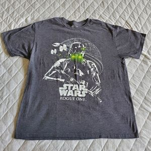 ⭐ 4/$20 Star Wars Rogue One T-shirt Size Large